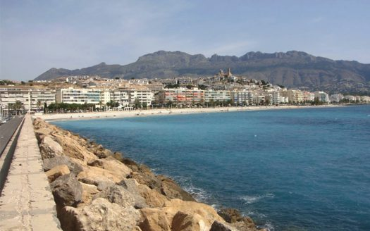 APARTMENT IN THE CENTER OF ALTEA WITH SEA VIEW
