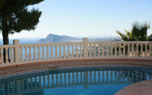AMAZING LUXURY VILLA WITH SEA VIEWS. ALTEA HILLS