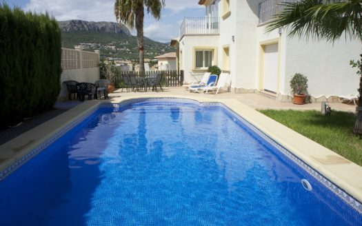 WONDERFUL VILLA FOR RENT IN CALPE