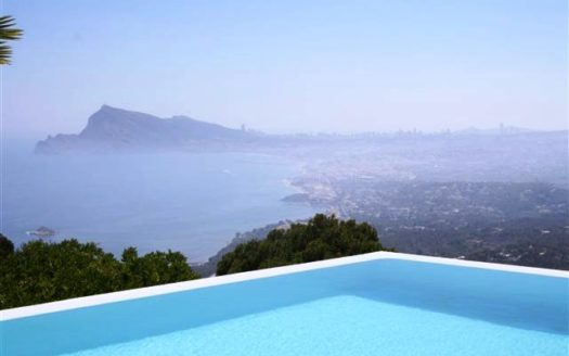 INCREDIBLE VILLA IN ALTEA HILLS, PANORAMIC VIEWS