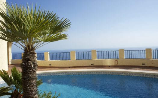 SEA VIEW VILLA FOR RENT IN ALTEA HILLS
