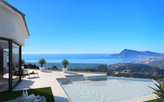 NEW MODERN HOUSE IN ALTEA GOLF
