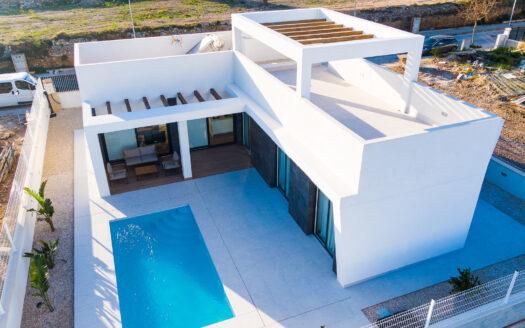 MODERN NEW BUILD VILLAS IN POLOP ( BENIDORM )